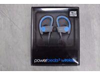 Powerbeats2 Wireless Blue Brand New Factory Sealed £120
