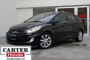 2014 Hyundai Accent GLS + HATCH! + VERY LOW KMS! + LOCAL