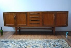 G Plan Fresco 7 foot sideboard exceptional vintage condition DELIVERY Danish teak era 4070D gplanera
