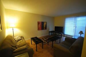 Furnished southwest 2 bedroom with pool and fitness centre!