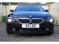 BMW 650i cab Black Cream leather I have owned this vehicle for 9 years maintained regardless of cost