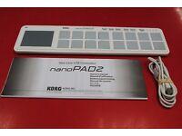 Korg nanoPAD2 Slim-Line USB Controller Boxed £33