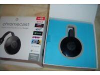 Google Chromecast 2nd generation - Boxed perfect