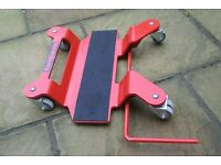 motorcycle centre stand mover
