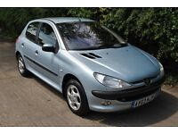 Peugeot 206 1.4 GLX 5 dr (a/c) * Manual * Cambelt change and Full service history * MOT'd