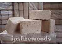 Firewood Briquettes hardwood RUF-type