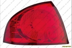 Tail Light Driver Side Base-S High Quality Nissan SENTRA 2004-2006