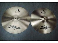 "Zildjian New Beat Hi-hat Top and Bottom 14"" Cymbals £305"