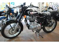 Royal Enfield Bullet 500cc, BRAND NEW, 2 Yr warranty **SAVE £500**