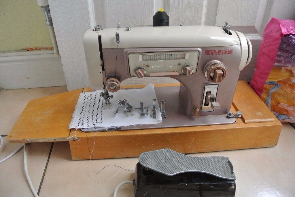 Frister Rossmann Gritzner 40 MultiDecorative Stitches Vintage Amazing Gritzner Sewing Machine Price