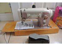 Frister & Rossmann Gritzner 21 Multi-Decorative Stitches Vintage Sewing Machine
