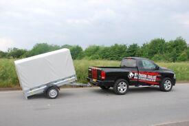Car trailer 750kg 7x4 single axle
