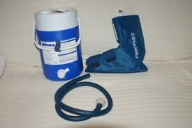 PHYSIOTHERAPY OR PODIATRY AIRCAST CRYOCUFF JOINT & SOFT-TISSUE COLD COMPRESSION TREATMENT COOLER