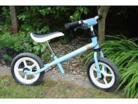 Child's balance bike, Kettler Speedy, good condition