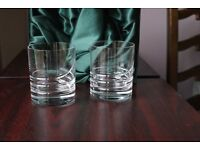 Tyrone Crystal Tumbler glasses