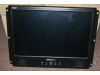 Hannspree XM-S 19 Inch Monitor - DVI & VGA INPUT.