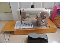 Frister & Rossmann Gritzner 21 Multi-Decorative Stitches Vintage Sewing Machine