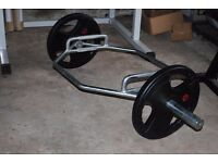 BRAND NEW OLYMPIC TRAP HEX DEADLIFT BAR (WEIGHTS GYM)