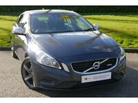 DIESEL***(12) Volvo S60 1.6 D2 R-Design 4dr (start/stop) ****FVSH**12 MONTH AA WARRANTY** FINANCE