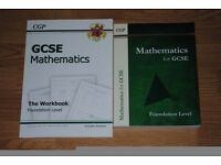 CGP GCSE MATHEMATICS WORKBOOKS FOUNDATION LEVEL FOR £5