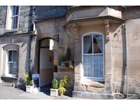 Guest House Manager in Perthshire. A 5 bedroom guest house in the beautiful village of Birnam.