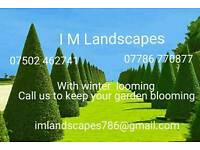 Gardener, Grass cutting, Hedge Trimming, Flagging, Block Paving, Fencing, Jet washed