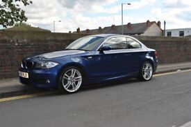 BMW 123D M SPORT RED LEATHER FULLY LOADED NOT 118 120