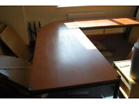 Various Office Furniture - Cherry