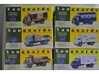 Vanguard die cast models