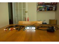 Optical SPDIF Coaxial Dolby DTS / AC3 Digital to 5.1 / 2.1 CH Analog Audio Decoder