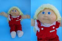 Vintage Cabbage Patch Kids CPK Blonde Girl Doll Coleco