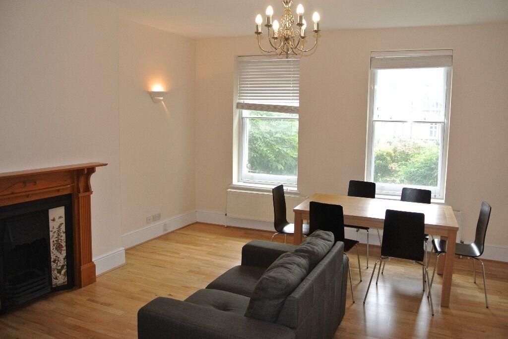 Large 3 double bedroom, 2 bathroom split level garden apartment close to Kennington and Waterloo