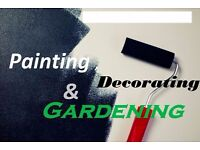 Painting , decorating and gardening BEST PRICES