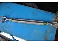 galvanized heavy duty turnbuckles/tensioners
