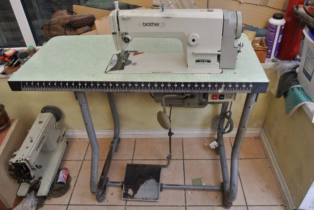 BROTHER INDUSTRIAL FLATBED SEWING MACHINE In Westbury On Trym Stunning Brother Industrial Sewing Machines
