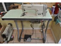 BROTHER INDUSTRIAL FLATBED SEWING MACHINE
