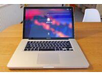 Apple MacBook Pro Intel i5 Dual-Core 2.53GHz RAM 4GB HDD 500GB (2010)