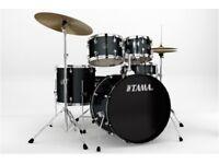 BARGAIN Tama Drum Dark blue 5 piece 22 inch very good condition