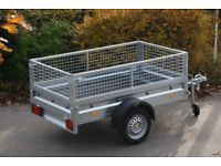 Cage trailer single axle 6x4 750kg