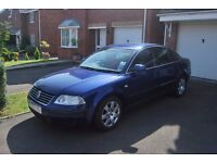 Volkswagen Passat 2.0 Sport 2003 Blue