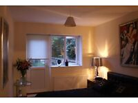 Lovely double bedroom in flat share