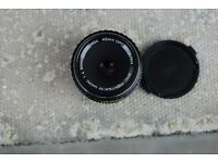 Pentax M 50mm f/4 Macro lens