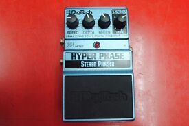 Digitech Hyper Phase Stereo Phaser £44