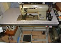 Brother TWIN NEEDLE FEED INDUSTRIAL machine for UPHOLSTERY DOUBLE STICHING