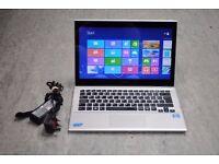 """Sony Vaio SVT131A11M 13.3"""" Touchscreen Ultrabook Laptop £210"""