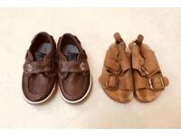 Boys shoes and sandals - infant size 4