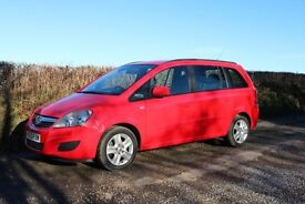 Vauxhall Zafira VERY LOW MILEAGE 1.6i [115] Exclusiv Nav 5dr 2013 (63)