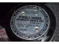 Russell Hobbs vintage coffee pot