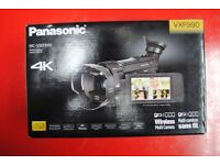Panasonic HC-VXF990 Wireless 4K Video Camera Brand New £750