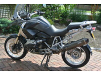 2008 1200GS with all the extras and full service history. Excellent condition.